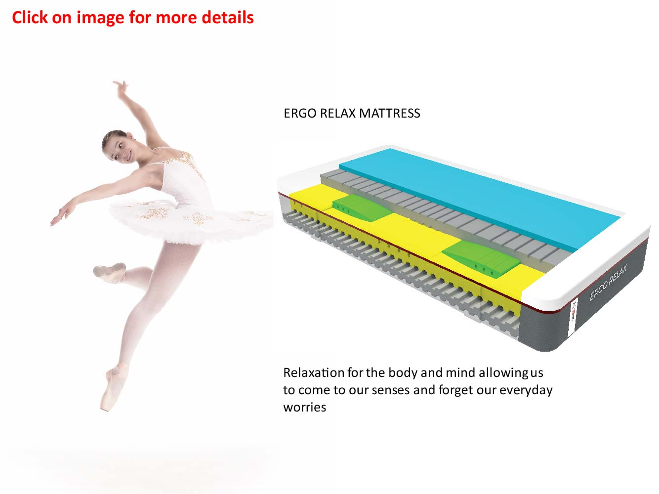 Swissaire True Ergonomics - Ergo Relax mattress